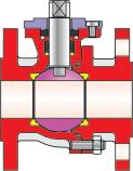 to DIN ISO 5211 Excerpt from the options catalog Sets of seals made of plastic compounds Backup shaft sealing Heating jacket Flange types acc.