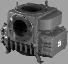 DVJ & DPJ Rotary Positive Displacement Blowers Basic Equipment Description ROOTS DVJ blowers feature an exclusive discharge jet plenum designed to allow cool, atmospheric air to flow into the casing.