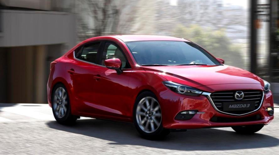 OTHER MARKETS Mazda3 First Half Sales Volume (000) 200 191 (2)% 187 77 Others 76 100 60 Australia 59 54 ASEAN 51 0 FY March 2017 FY March 2018 Sales were 187,000 units, down 2% year on year