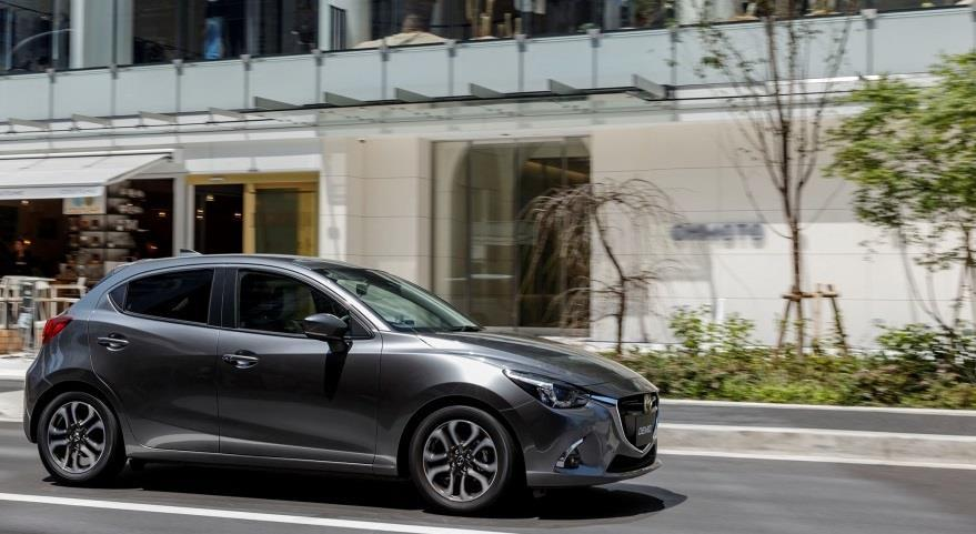 JAPAN Sales were 96,000 units, up 4% year on year (000) 100 50 First Half Sales Volume 4% 93 96 Mazda2 Market share was 3.9%, down 0.1 points year on year. Registered vehicle market share was 4.