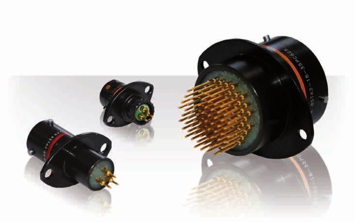 8STA Series PCB Connectors Description Derived from MIL-DTL-38999 & Eurofighter JN 1003, 8STA connectors use the extensive SOURIAU range of 38999 medium and high density signal contact layouts Rugged