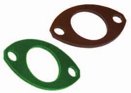 50 2.30 3.5 Nut plates Gaskets Nut plates are available for all 8STA (sizes 02 to 24) two holes flanges mounted connector receptacles. Their design was specially made for Motorsport market.