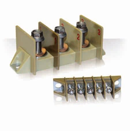 8STA/8TA Series Products Range Extension 209 Series Terminal Blocks for Power Distribution. Distribution of electrical current for aircraft equipment. Versatility:.