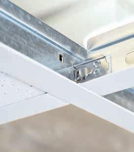For decades, Knauf AMF has been one of the leading, international manufacturers of suspended ceiling systems and represents complete product and system solution expertise.