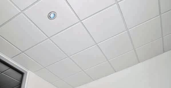 AMF VENTATEC System quality standard Made in Germany Knauf AMF is an expert in fire protection and fire protective systems within the area of ceilings.