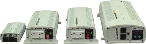 MW Series (Modified Sinewave) 120 VAC Series MW 1204 MW 1210 MW 1215 MW 1230HW Power (Continuous) 400W