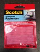 Use Scotch 3M All Weather Fasteners and