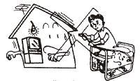 Don t operate the unit in enclosed or partially enclosed places, such as rooms, basements, garages, caves, tunnels, etc (Figure 1) WARNING DANGER: Carbon Monoxide.