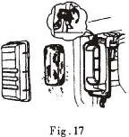 (Figure 15) Re-mount the fuel filler cover and tighten it well (Figure 16) CAUTION Don t add a