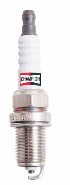 SPARK PLUG TECHNOLOGIES DOUBLE CHAMPION INNOVATION The copper technology provides excellent lifetime and engine performance at a reasonable price.
