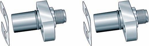 Product overview Axial/radial bearings with integral angular