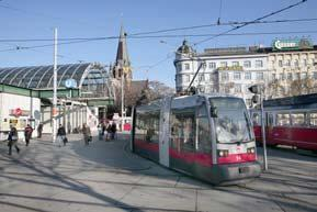 Planned extension of the public transportation grid Wiener Linien is set to invest almost EUR 1.8 billion by 2013 alone. Of this amount, around EUR 1.
