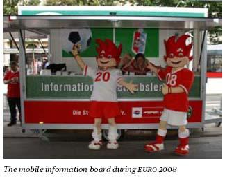 EURO 2008 the highlight of 2008 More than 7.3 million passengers than usual within the 23-day competition More than 60% of fans made use of the underground to travel to the stadium.