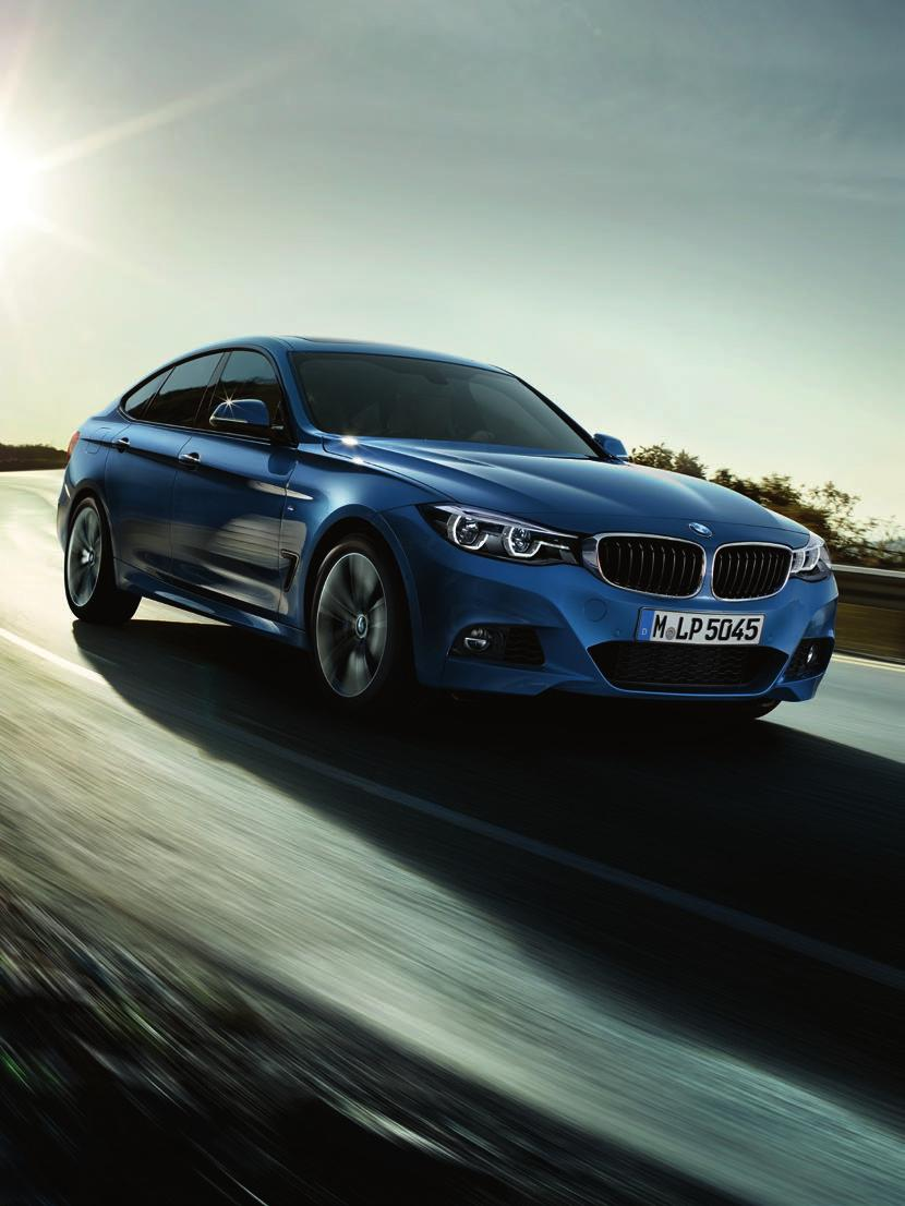 The Ultimate Driving Machine THE BMW 3 SERIES GRAN TURISMO. PRICE LIST.