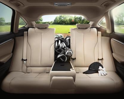 and generously proportioned interior, ensures first class comfort.