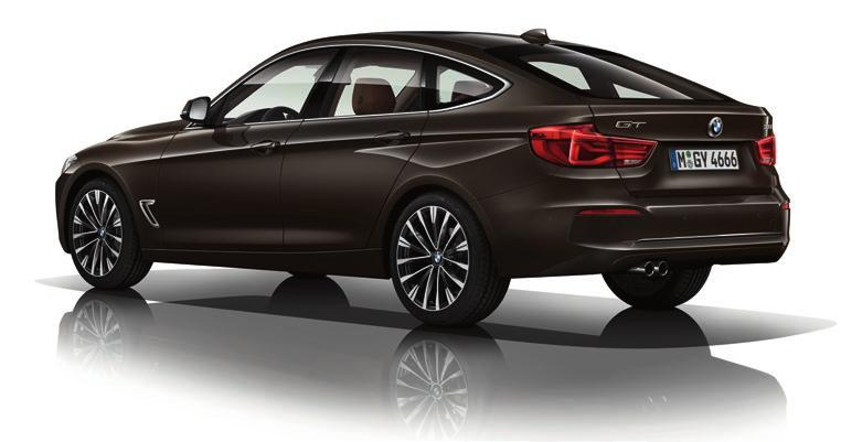 Below highlights some of the equipment differences between the trim levels, whilst further details can be found in the BMW 3 Series Gran Turismo brochure.