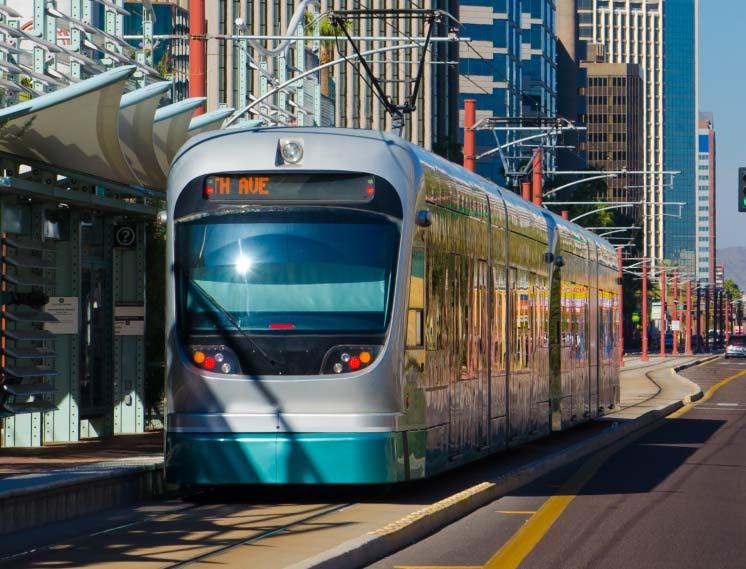 Typically: At-grade Limited mixed-use or exclusive lanes Stops every half to one mile Powered by a variety of sources Light Rail Transit (LRT) Also known as trolley or streetcar,