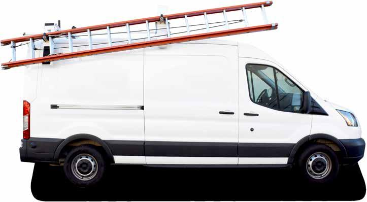 3. HD ALUMINUM SINGLE CLAMP & LOCK LADDER RACK #4A873 The HD Aluminum Single Clamp & Lock HD Aluminum Ladder Rack for compact vans makes ladder