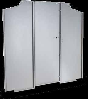 New Van Partitions Solid Van Partitions give a solid barrier between your drivers and