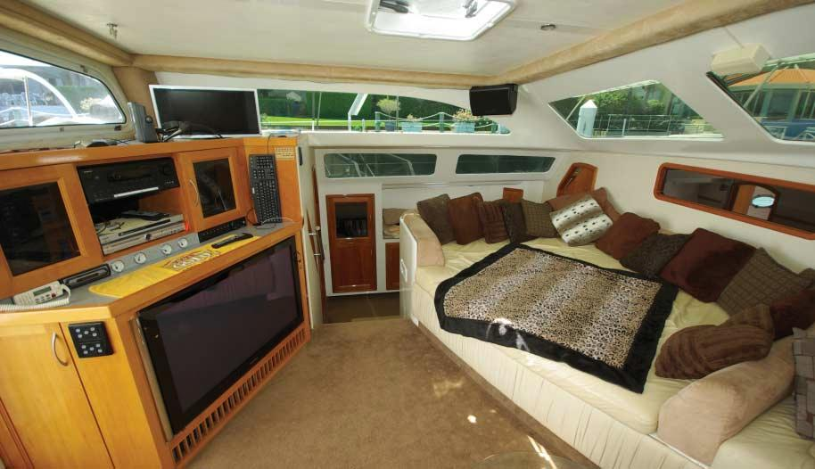 Introduction Zambezi features a spa on the foredeck, allowing you to relax with your
