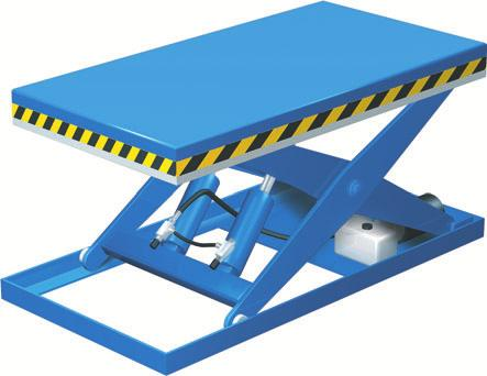 The standard lift table ELS model offers variable lifting for adjustment to the ergonomically suitable working height. Lift table s strength is its versatility.