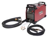 Order K2532-1 PLASMA CUTTING Tomahawk 1000 Cuts metal using the AC generator power from the engine-driven welder. Requires the T12153-9 Full-KVA Power Plug (1-Phase).