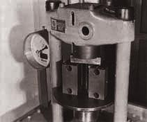 Use a press to push the pre-aligned Radial Linear Bushing firmly into the housing.