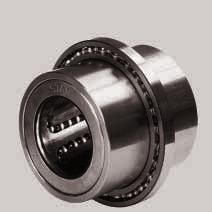 STAR Linear Bushings for Combined Linear and Rotary Motion Linear Bushings for Combined Linear and Rotary Motion, 0663- with deep groove ball bearings, series 618 Linear Bushings for Combined Linear