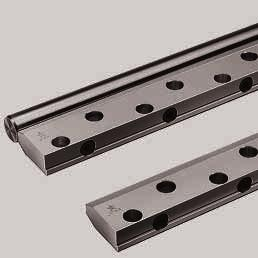 STAR Shaft Support Rails side mounting for open-type Standard and Super Linear Bushings Shaft Support Rails, 1054-1.