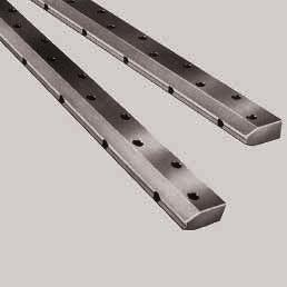STAR Shaft Support Rails side mounting for Radial Linear Bushings Shaft Support Rails, 1053- with fitting edge These steel shaft support rails afford very high rigidity even when full advantage is