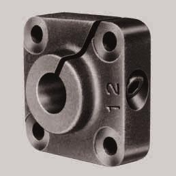 STAR Shaft Support Blocks Shaft Support Blocks, 1056- with flange For use with Linear Bushings or Linear Sets, closed or adjustable type.