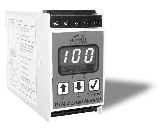 Installation Instructions PTM-4 Load Monitor 1. INTRODUCTION 2 1.1 Method Of Operation 2 1.2 Set-up And Calibration 2 2. INSTALLATION AND WIRING 3 2.1 Typical Wiring Diagram 3 2.