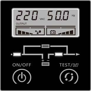 2. Mode Description 2 1 Line Mode Line mode means that the mains input is rectified/converted by the AC/DC section and then inverted to stable output by DC/AC section.