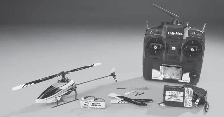 WARRANTY Heli-Max guarantees this kit to be free from defects in both material and workmanship at the date of purchase. This warranty does not cover any component parts damaged by use or modification.