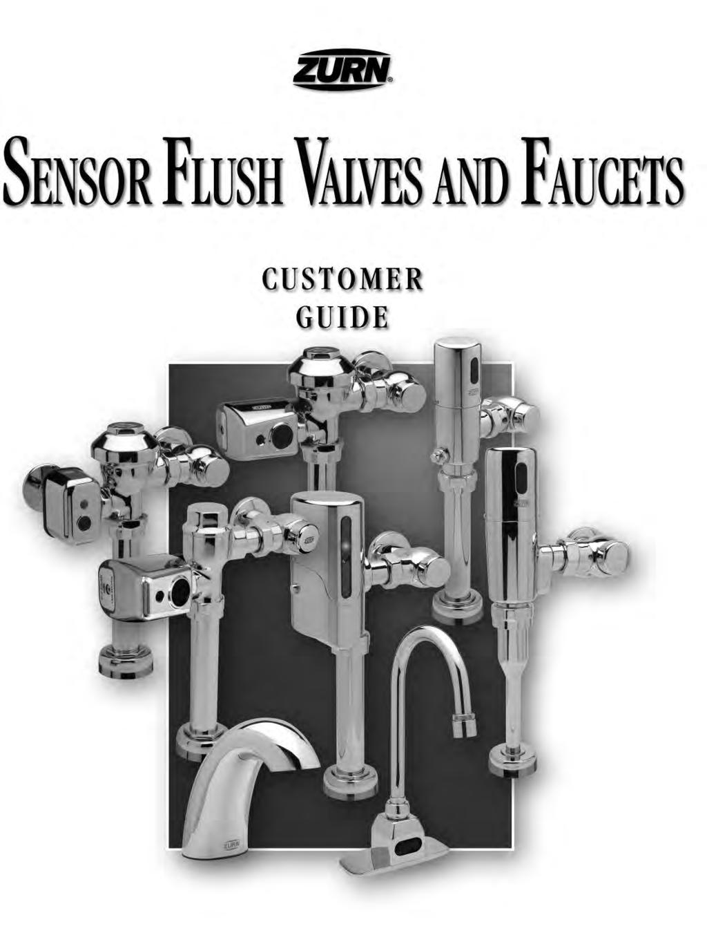 Sensor Flush Valves and