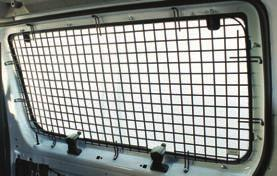 WINDOW SCREENS Transit Connect Rear Doors FEATURES AND BENEFITS Industry s strongest 7 gauge wire frame and grid