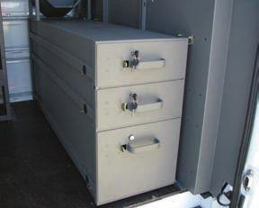 HEAVY DUTY DRAWER UNIT FEATURES AND BENEFITS Floor Drawer Unit