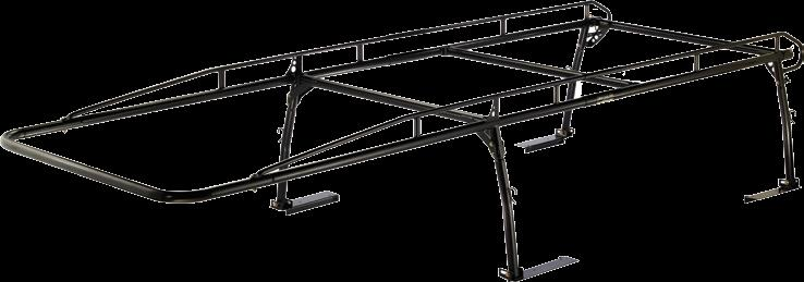 heavy-duty pro II pick up truck cargo racks Rack removes easily with bolts. swaged joints provide double strength. High-strength yellow zinc plated self-locking fasteners.