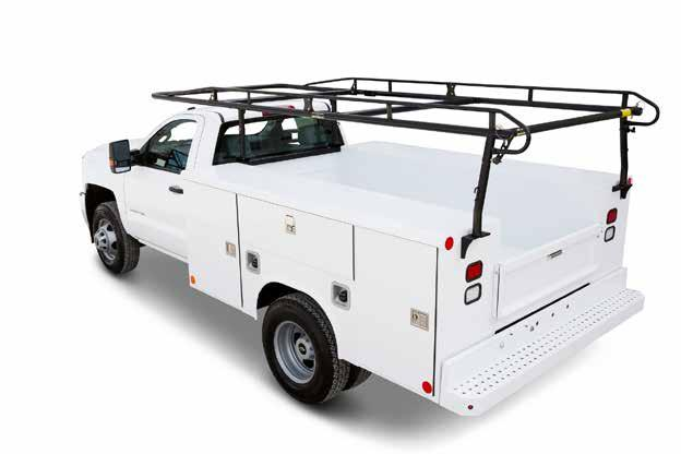 pro II heavy-duty service bodies cargo & ladder truck racks Fits Virtually All Service Bodies Makes and Models These highly crafted racks are quick to assemble and install.