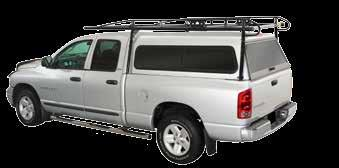 racks for pick up trucks with shells H E A V Y - D U T Y P R O I I C A R G O R A C K Camper Shell Front Mount Assembly With camper shell applications, the rack footplates