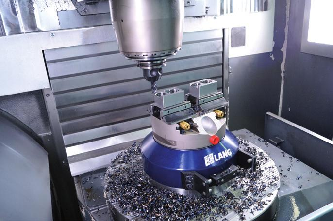 machine-tool because workpieces can be positioned among 4x 9 process-safe and with high repeat accuracy.