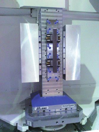 zero-point grid on all four faces 3 Compatible with all LANG workholding devices 3 4