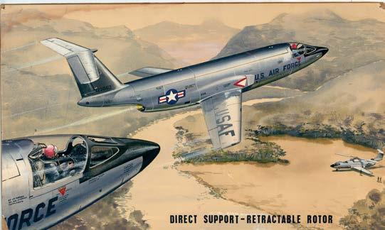 One of the most ambitious of these was Sikorsky s retractable single bladed rotor concept, the S-57.