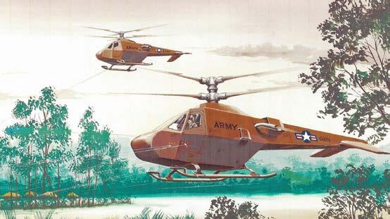 The Tri-Verti-Plane Concept Marine Corps JVX Tilt Rotor Advancing Blade Concept Sikorsky created the Advancing