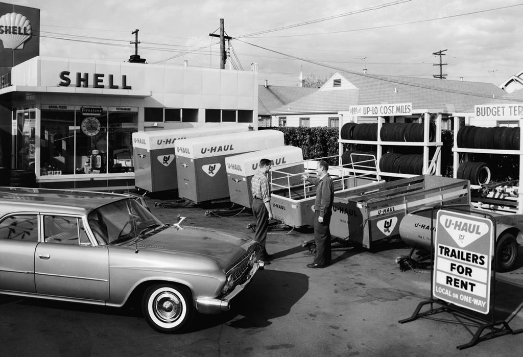 A Sharing Business Since 1945 U-Haul has 72 years of experience and expertise utilizing a sharing business model.