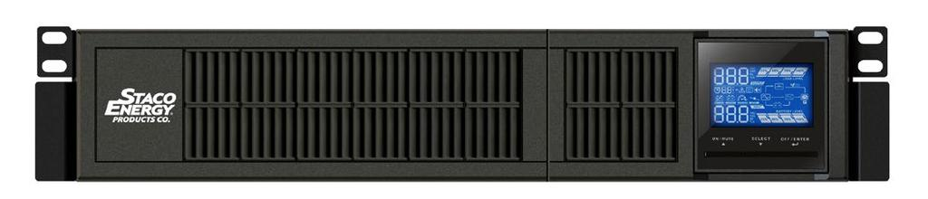 The convertible tower/rack design offers maximum flexibility, enabling UPS integration into a wide variety of environments.