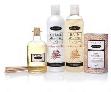 23 Personal Care & Beauty de~luxe De~luxe believes in luxury you can afford with pure fragrances, superior formulations and personal and home care products so incredible that their quality is