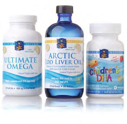 Heart Health / Omega-3 Supplements 6 Nordic Naturals The Arctic Cod used in Nordic Naturals products has the highest DHA, vitamin A, and vitamin D content of any cod species and the Cod Liver Oil in