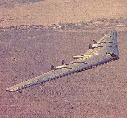 The YB-49 http://www.nurflugel.com/nurflugel/northrop/yb-49/yb-49_color.