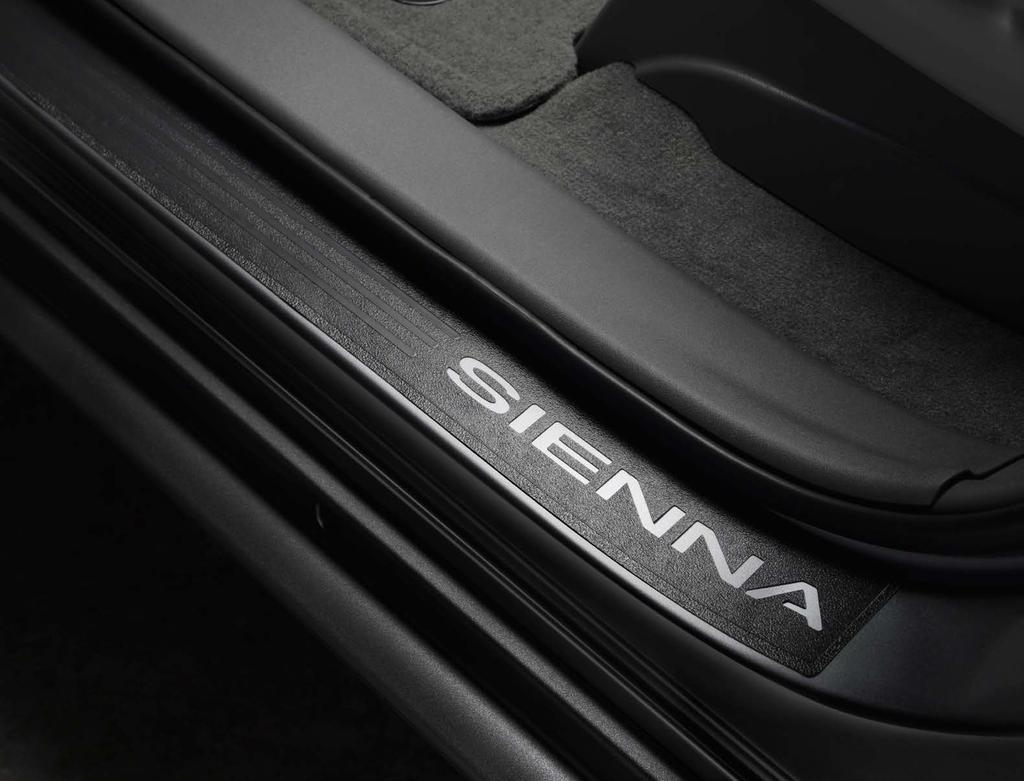 Door Sill Protectors Help protect your Sienna s door sills from scuffs and